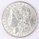 1897-P Moran Silver Dollar
