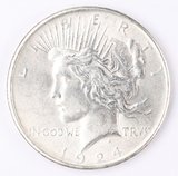 1924-P Peace Silver Dollar