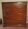 Mahogany 4 Drawer Cabinet