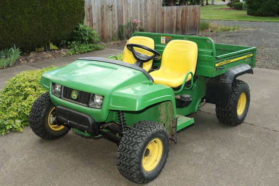 Monmouth Sale - Antiques, Sewing, Deere Gator