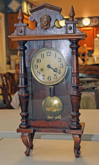 Antique Shelf - Bracket Clock