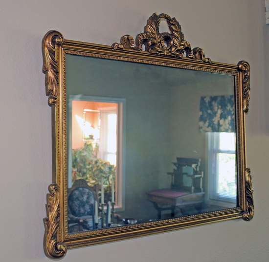 Gilded Mirror w/ Ornate Frame