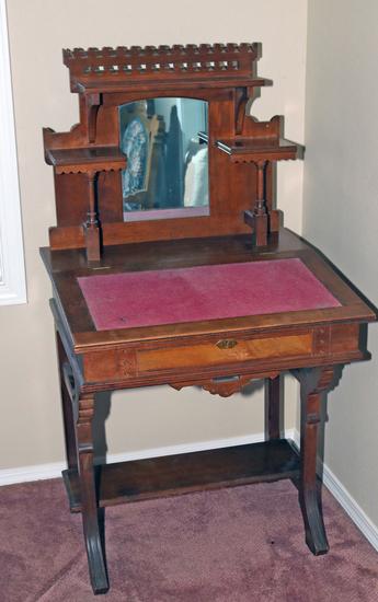 Antique Eastlake Style Secretary Desk