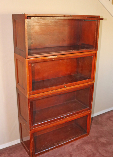 Globe Wernicke Stacking Bookcase Sections