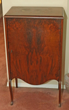 Antique Mahogany Finished Music Cabinet