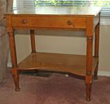Small Table w/ Drawer & Shelf