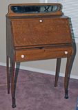 Old Oak Finished Secretary Desk