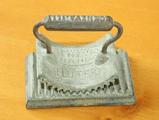 Antique Cast Iron Geneva Hand Fluter