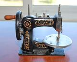 Antique National Stitchwell Child's Sewing Machine