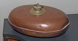 Old Copper Finished Bed Warmer