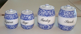 Villeroy & Boch Canisters - Dresden Germany