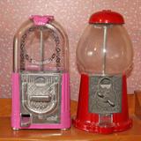 2 Carousel Gum Ball Machines