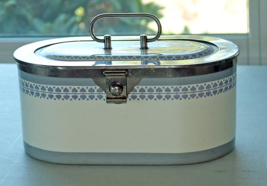 Antique German Porcelain Lidded Box