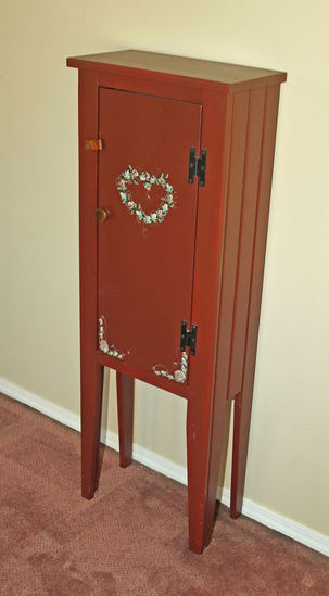 Thin Standing Cabinet
