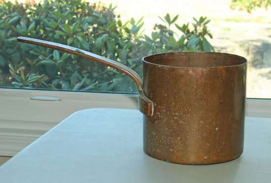 Heavy Copper Sauce Pan