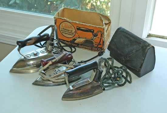 3 Electric Irons