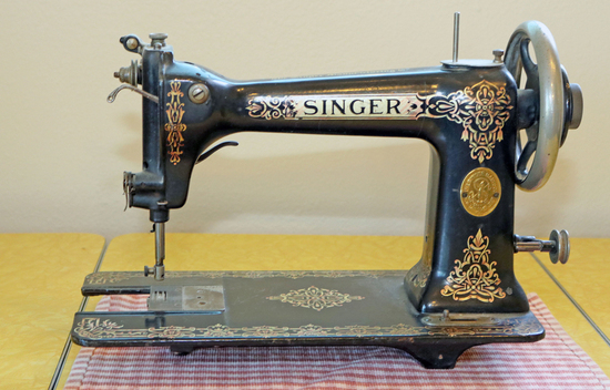 Singer Sewing Machine Head