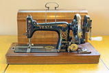 Antique Vesta Manual Sewing Machine, Germany