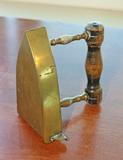 Antique Brass Iron w/ Heating Insert