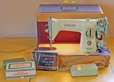 Singer 15-125 Sewing Machine, Ca. 1955-1958