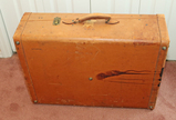 Old Leather Suitcase - Wardrobe