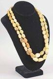 Desert Rose Trading Design Yellow Beaded Necklace, DRT .925