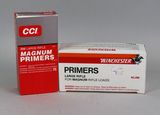 CCI & Winchester Large Rifle Magnum Primers, 2 Boxes of 1000