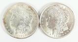 2 - 1921-P Morgan Silver Dollars