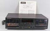 Pioneer Stereo Double Cassette Deck, CT-W504R