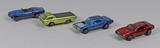 1967 Hot Wheels: Custom Camaro, Custom Cougar, Deura, Custom Firebird