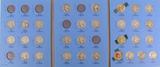 Washington Silver Quarter Book 1932 to 1945