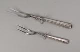 Sterling Silver Handled Carving Forks