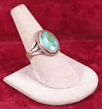 Southwest Style Turquoise Ring, Sz. 8 3/4