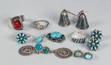 Silver Southwest Jewelry - Earrings, Rings