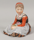 Royal Copenhagen #12420, Fyen Girl Figurine