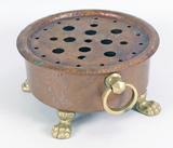 Hammered Copper Tea Pot Warmer