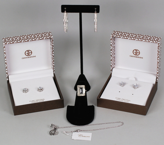 Sterling/.925 Jewelry with CZ Stones