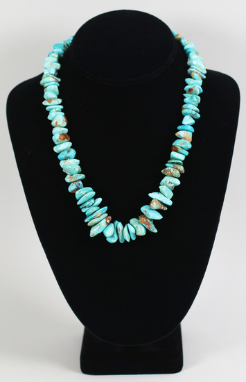 Desert Rose Trading .925 Turquoise Necklace