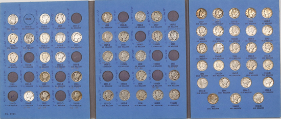 Mercury Silver Dime Book