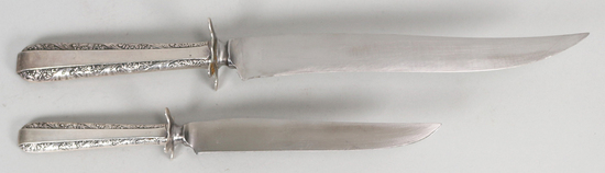Towle Sterling Handle Carving Knives