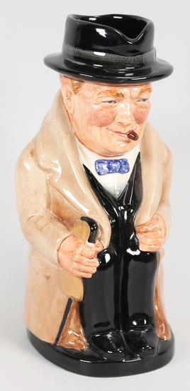 """Winston Churchill"" Royal Doulton Jug/Pitcher, #8360"