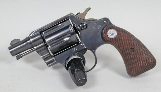 """Colt """"Detective Special"""" .38 Spcl. Revolver, Ca. 1958"""