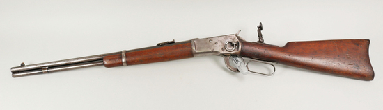 Winchester Model 92 Carbine w/ Marble's Tang Sight, Ca. 1929