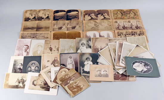 Antique Photos & Stereographic Cards