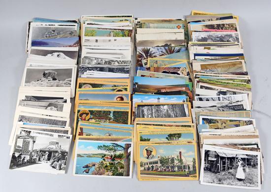 Assorted Postcards & Travel Photos