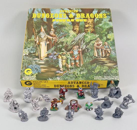 Dungeons & Dragons Figure Set 5003