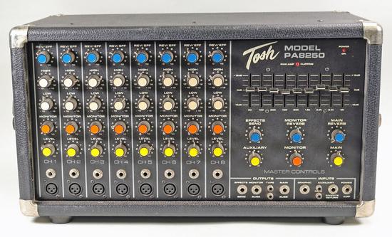 Tosh PA-8200 Mixer Power Amp