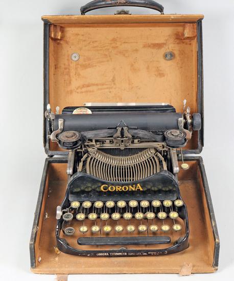 Antique Corona 3 Folding Typewriter, Ca. 1917