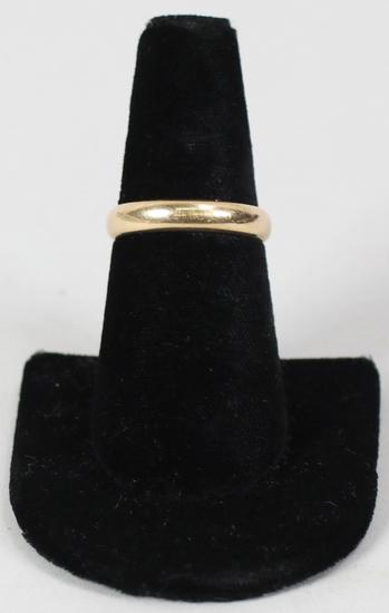 14K Gold Band, Sz. 8.5 - 5 Grams