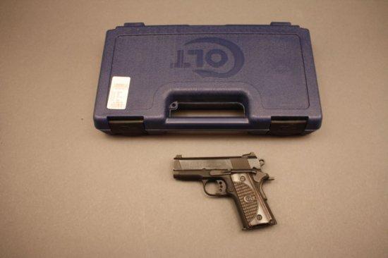 COLT NEW AGENT, 9mm LUGER SEMI-AUTO PISTOL